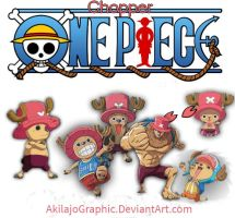 One Piece CHOPPER PNG #006 by AkilajoGraphic