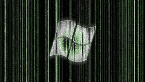 Windows Matrix Wallpaper by van-helblaze