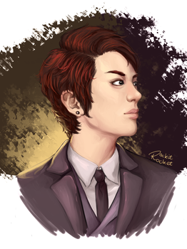 Chanyeol by Laurir