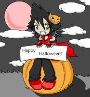 """Happy Halloween"" Vanitas by XmegafuzzyslippersX"