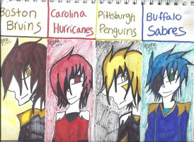 Hockey Bookmarks Page 3 by ukesemeX3