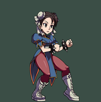 SkullGIrls Chun-Li by KillsoniK