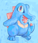 Totodile by SailorClef