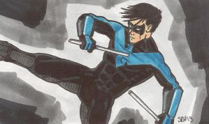 Nightwing by mmmmmpig