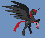 Alicorn Commander Shepard by Man-of-the-Hour