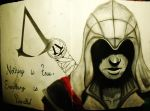 Nothing is true, everything is permitted. by brokencyde234