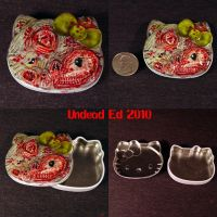 Hello Rot Kitty Metal Tin by Undead-Art