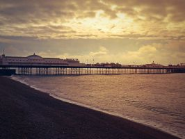 Brighton Pier by Kitiamara