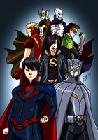 Secret Identity:The Crime Syndicate by kyomusha