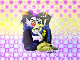 Another Eridan and Sollux Picture by XxKitomaxX