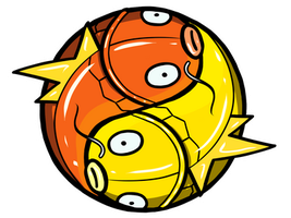 Magikarp Yin Yang Doodle Thinger by IncreasinglyCoherent