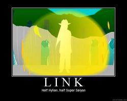 Link Motivational Poster by UnchosenOne