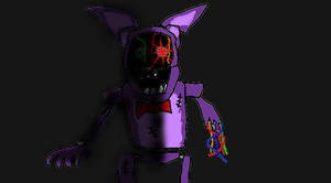 I drew withered Bonnie by TheUltimateSpiderFan