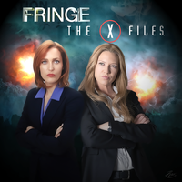Scully and Dunham by PZNS