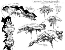 Screamers2 Concept4 by johjames