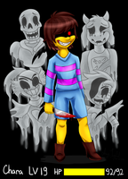 True monster (Undertale) by ArtyJoyful