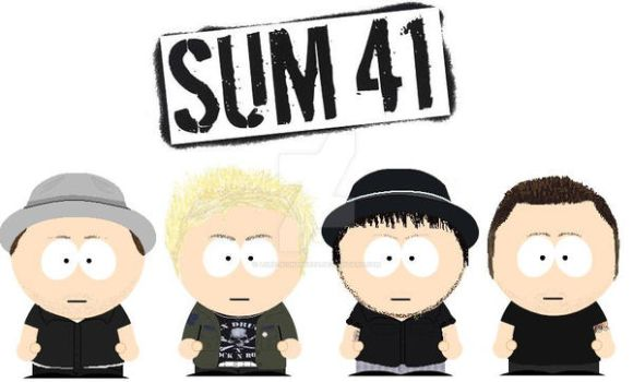 South Park Sum 41 by lord-nightbreed