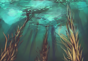 Kelp Forest by sharkie19
