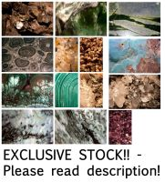 -EXCLUSIVE- Precious Stone Textures by syccas-stock