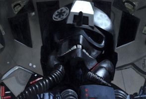 TIE Fighter Pilot by Ticiano