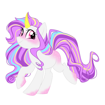 CP: Sparkly Unicorn by Azure-Art-Wave