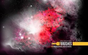 Free Grungy Galaxies Brushes by Designslots
