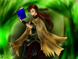 Vagabond of Books- AT by Silverarte