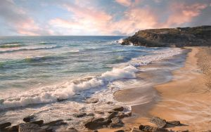 Pastel Shore by Frankief