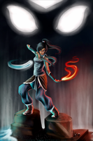 Korra... The New Avatar by Mikonow