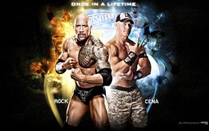 John Cena vs The Rock: Once In A Lifetime by i-am-71