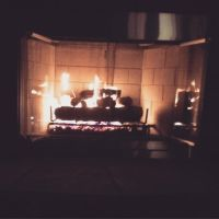 By the fire by Madylyne