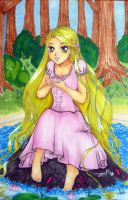 Rapunzel from Tangled by megancpshin04