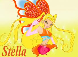 Stella, The Bright and Beautiful Enchantix fairy by gurlygurl1016