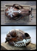Lithuanian Raccoon (SOLD) by Copperavi
