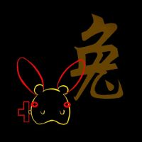 Year of the Rabbit_Plusle Neon by H3LLoK66aren99