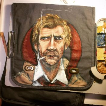 Constantine messenger bag by kahahuna