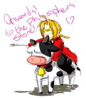 fma- adventures of the cow by starblacks