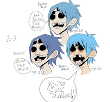You're Sick Murdoc by gorillaznoodle15