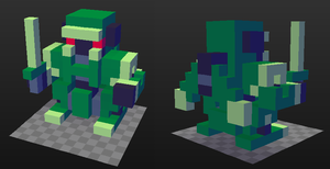 Voxelbot by brotoad