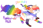 Rainbow Pride RAFFLE! by watercoIor