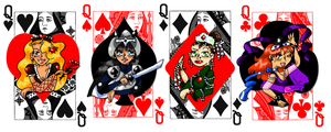 Original: Queen of Cards by caleigh