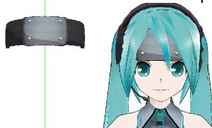 MMD- Ninja head Band-DOWNLOAD by MMDFakewings18