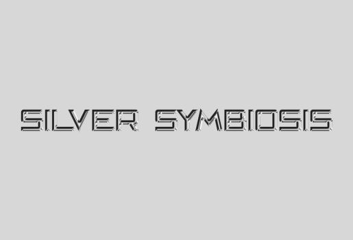 Silver Symbiosis Logo 1 by Arekage