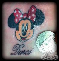 Minnie Mouse by state-of-art-tattoo