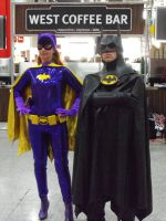 May Expo 2012 Batman and Batgirl by Uncharted-Deception