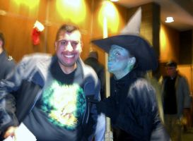 Me with Wicked Witch of The West by TheWizardofOzzy