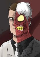 Two face by sketch95