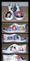 Bleach Shoes by Bliz77