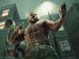 Street Tough by boscopenciller