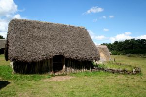 West Stow Anglo Saxon Village 11 by OghamMoon